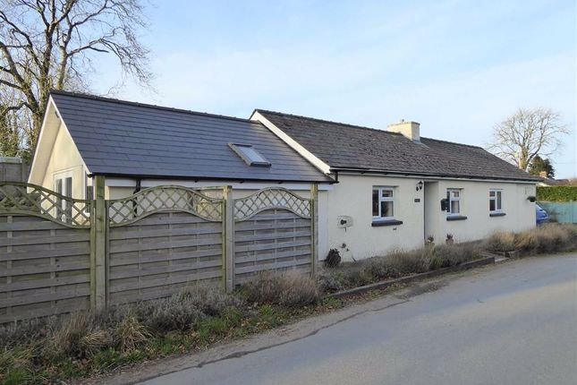 Thumbnail Detached bungalow for sale in Cilcennin, Lampeter, Ceredigion
