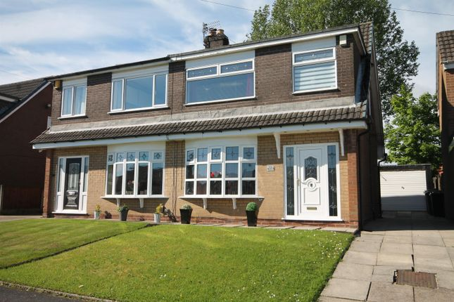 Thumbnail Semi-detached house for sale in Lichfield Close, Farnworth, Bolton