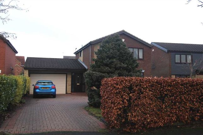Thumbnail Detached house for sale in Ripley Drive, Barns Park, Cramlington