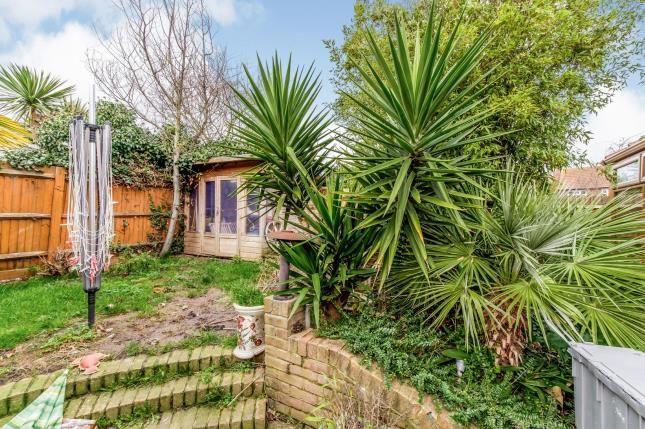 Garden of Chesterton Road, Cliffe, Rochester, Kent ME3