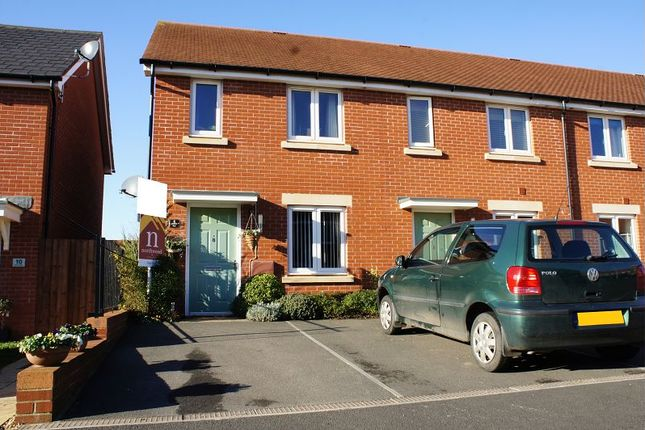 Thumbnail End terrace house for sale in Henrys Run, Cranbrook, Exeter