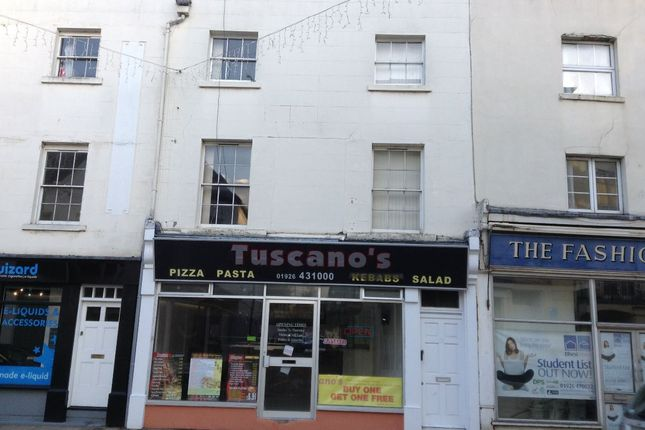 Thumbnail Flat to rent in Flat A, 25 Bath Street, Leamington Spa