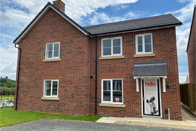 Thumbnail End terrace house for sale in Raby Drive, Off Harborough Road, Market Harborough, Leicestershire