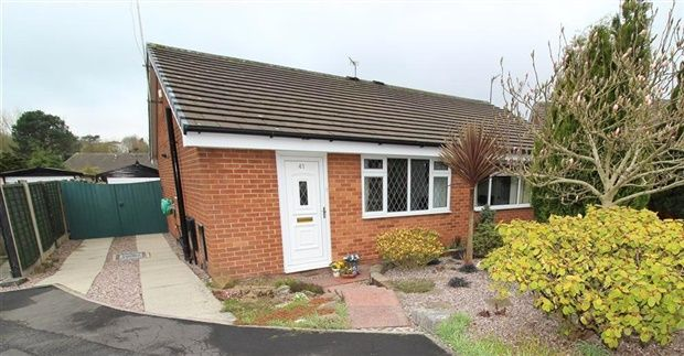 Thumbnail Bungalow for sale in Barleyfield, Bamber Bridge
