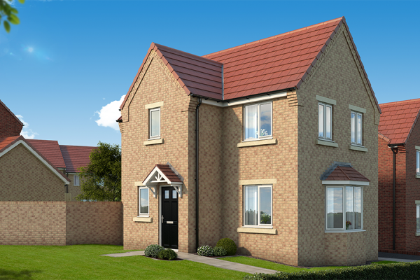 "Thumbnail Property for sale in ""The Mulberry At The Garth, West Denton"" at Dunblane Crescent, West Denton, Newcastle Upon Tyne"