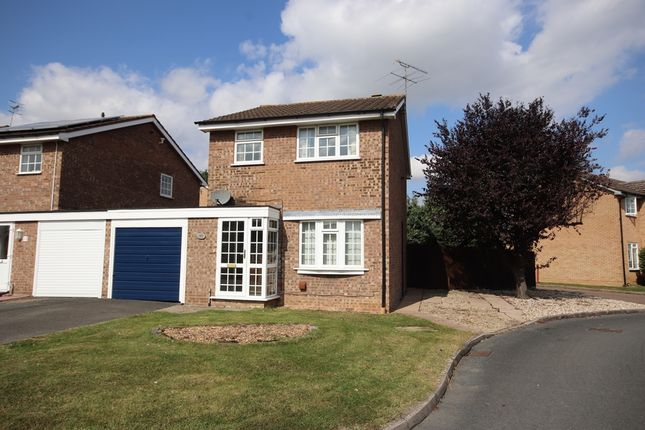 Thumbnail Link-detached house for sale in Holly Close, Evesham