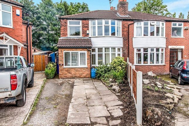 Thumbnail Semi-detached house for sale in Arthog Road, Didsbury, Manchester
