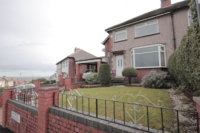Thumbnail Semi-detached house to rent in Hayfield Crescent, Sheffield