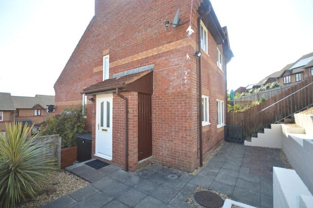 Thumbnail End terrace house to rent in Rushforth Place, Exeter, Devon