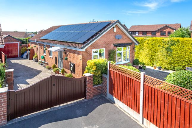 Thumbnail Detached bungalow for sale in Wheatcroft, Strensall, York, North Yorkshire