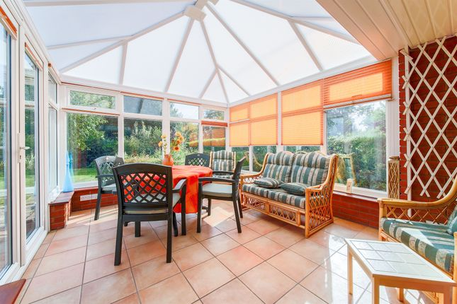 Thumbnail Detached bungalow for sale in Whinburgh Road, Westfield, Dereham