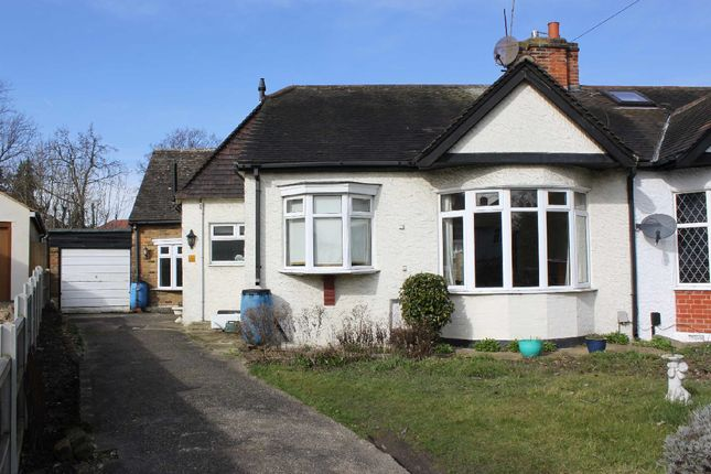 Thumbnail Semi-detached bungalow to rent in Hillside Close, Woodford Green