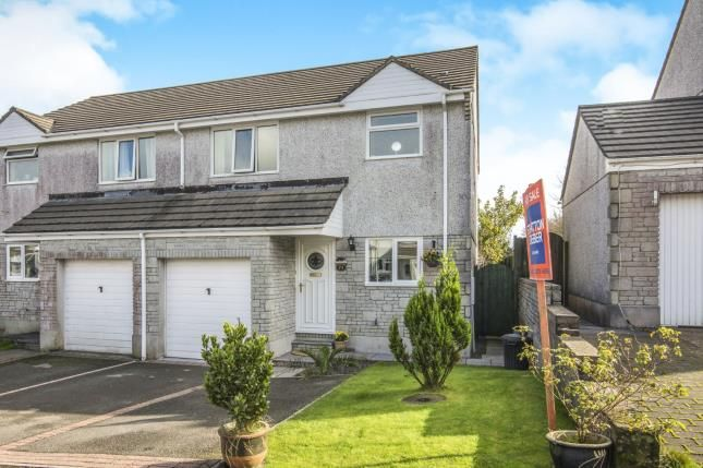Thumbnail Semi-detached house for sale in St. Cleer, Liskeard, Cornwall