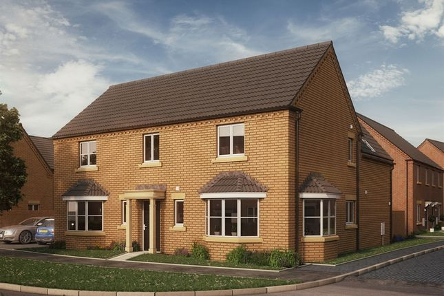 "Thumbnail Detached house for sale in ""The Lyveden"" at Glapthorn Road, Oundle, Peterborough"