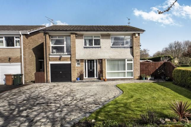 Thumbnail Detached house for sale in Dunsley Gardens, Dinnington, Newcastle Upon Tyne, Tyne And Wear
