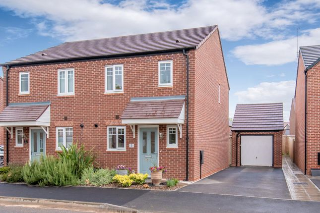 Thumbnail Semi-detached house for sale in Sandringham Avenue, Stratford-Upon-Avon