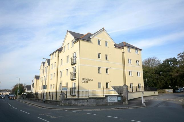 Thumbnail Flat for sale in Hermitage Court, Plymouth