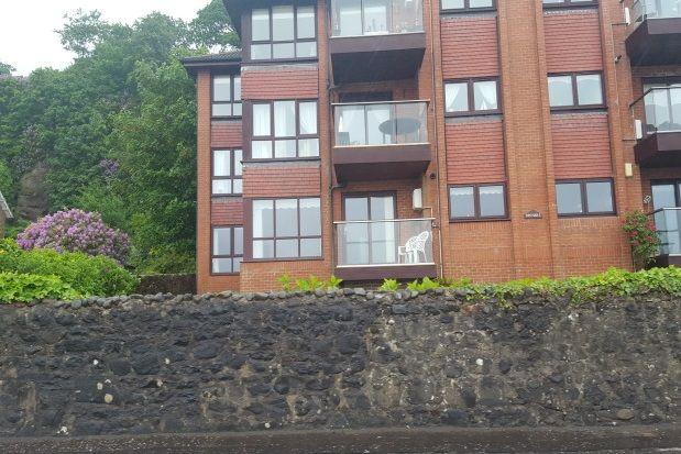 Thumbnail Flat to rent in Shore Road, Skelmorlie