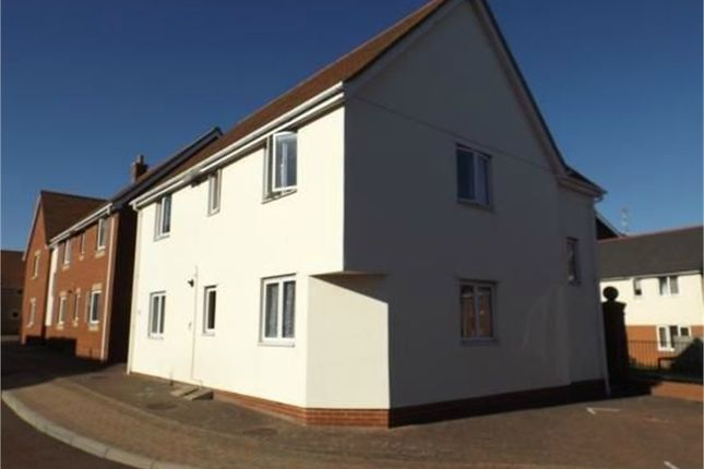 Thumbnail Flat for sale in Hakewill Way, Colchester, Essex