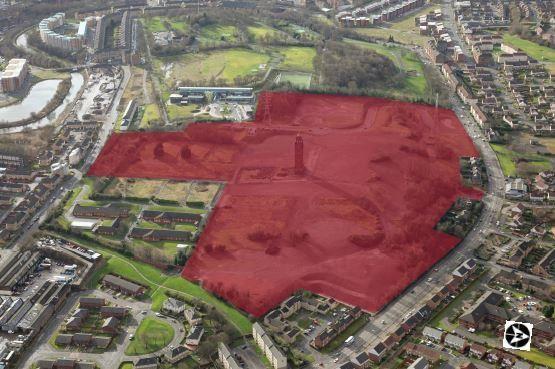 Thumbnail Land for sale in Former Ruchill Hospital, Bilsland Drive, Glasgow