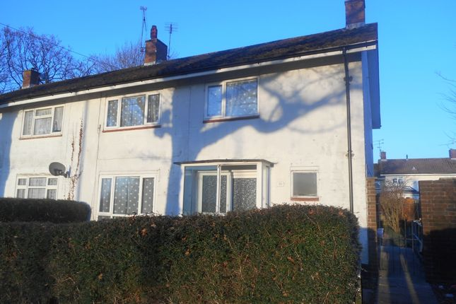 Thumbnail End terrace house to rent in Langley Drive, Crawley