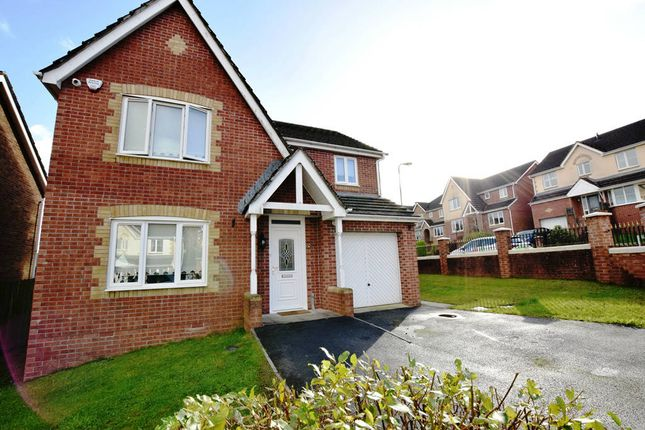 Thumbnail Detached house for sale in Burnet Drive, Pontllanfraith, Blackwood, Caerffili