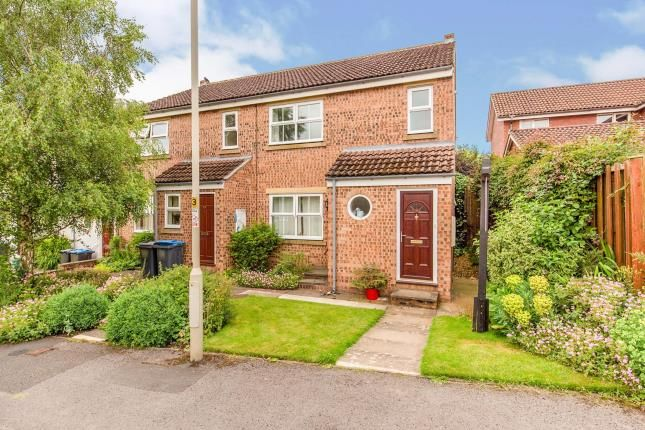 Thumbnail Flat for sale in Northfields, Hutton Rudby, Yarm, North Yorkshire
