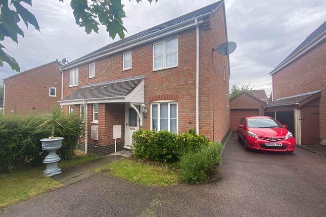 3 bed semi-detached house to rent in Tortoiseshell Way, Wymondham NR18