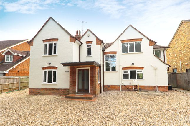 Thumbnail Detached house to rent in Reading Road, Wokingham, Berkshire