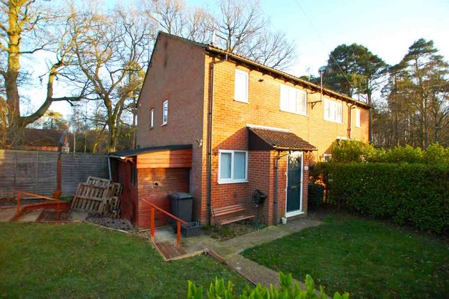 Thumbnail End terrace house to rent in Garnet Road, Bordon