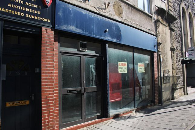 Thumbnail Retail premises for sale in Waterloo Street, Weston-Super-Mare