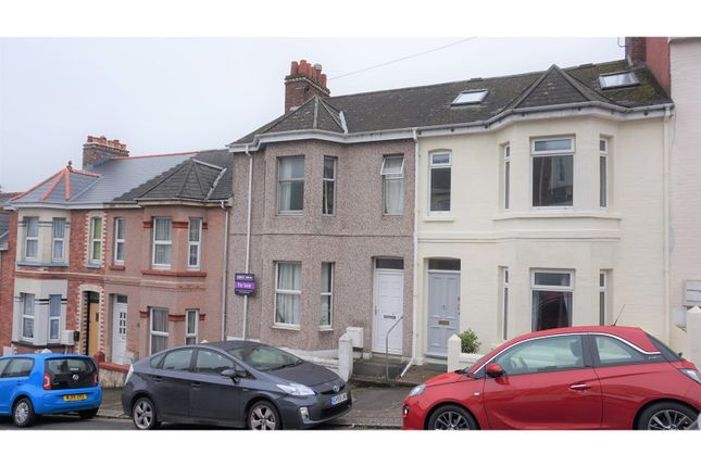 Thumbnail Town house for sale in Kinross Avenue, Plymouth