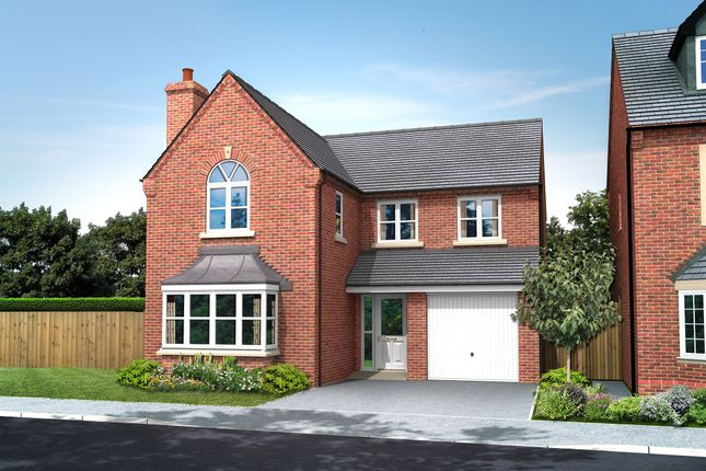 Thumbnail Detached house for sale in Croft Close, Two Gates, Tamworth