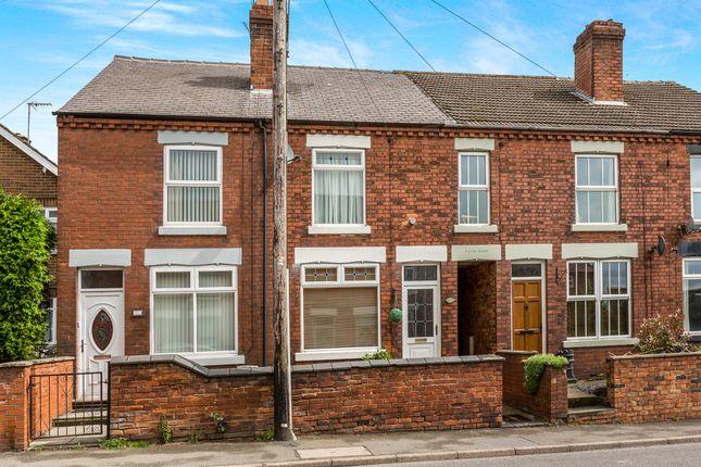 Thumbnail Terraced house for sale in Main Street, Horsley Woodhouse, Ilkeston