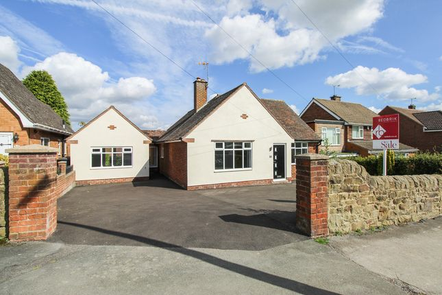 Thumbnail Detached bungalow for sale in New Road, Wingerworth, Chesterfield