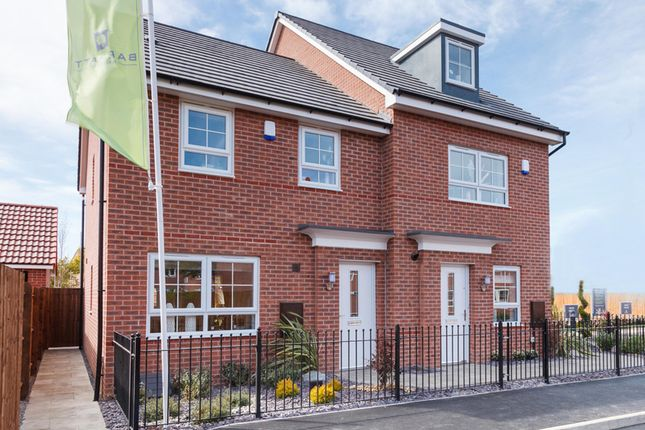 "Thumbnail End terrace house for sale in ""Maidstone"" at Mount Street, Barrowby Road, Grantham"