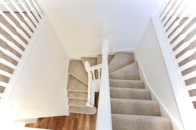 Staircase of Potter Close, Willaston, Nantwich CW5