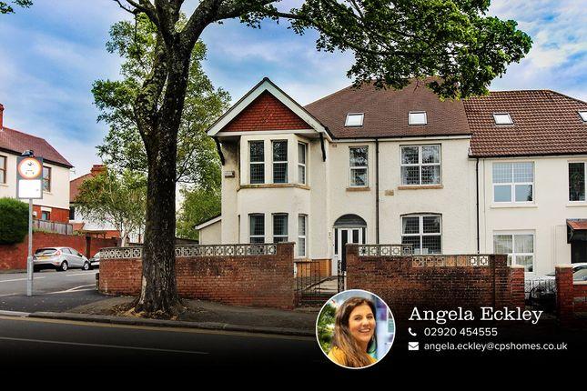 Thumbnail Semi-detached house for sale in Pen-Y-Lan Road, Roath, Cardiff