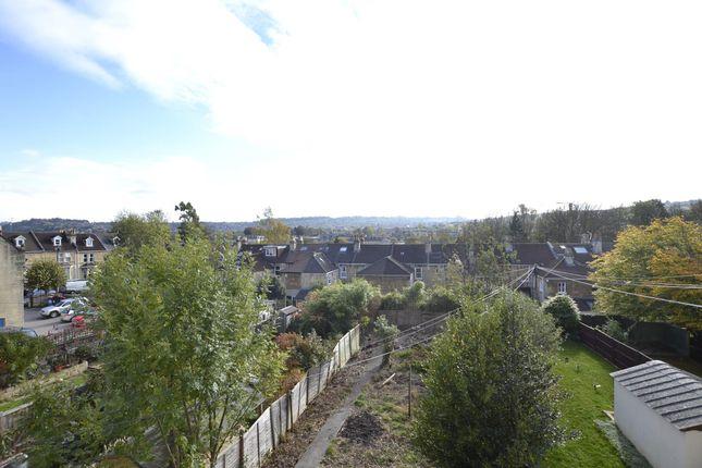 Rear View of Top Floor Flat, 9 Newbridge Road, Bath, Somerset BA1