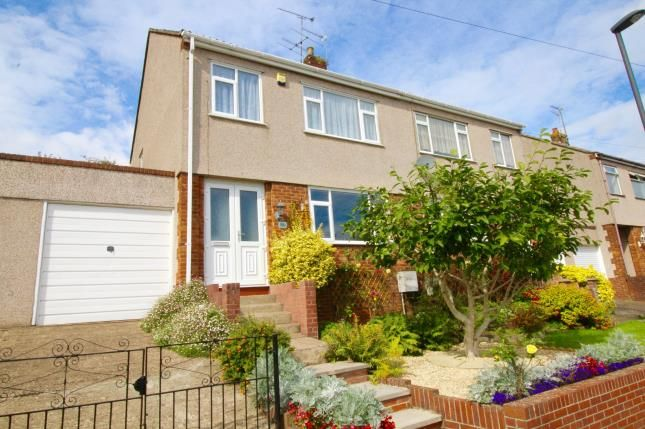 Thumbnail Semi-detached house for sale in Brook Road, Mangotsfield, Bristol, Gloucestershire