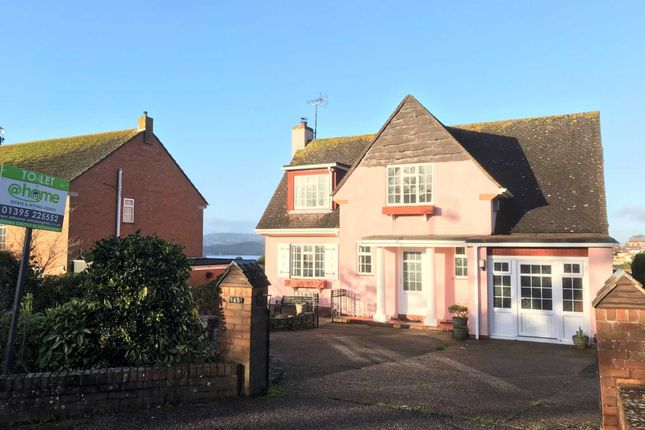 Thumbnail Detached house to rent in Hulham Road, Exmouth