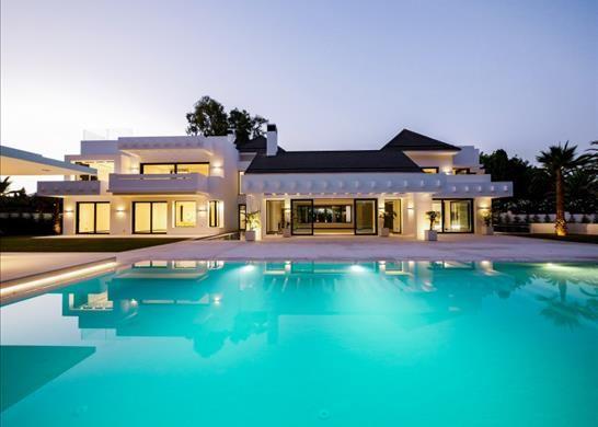 Thumbnail Detached house for sale in Urbanización Guadalmina Baja, 29678 Marbella, Málaga, Spain