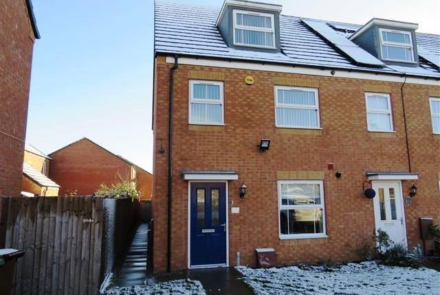 Thumbnail End terrace house to rent in Yorkshire Grove, Walsall