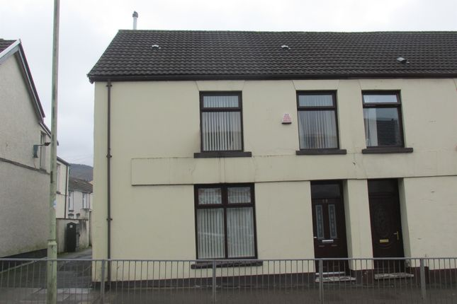 Thumbnail End terrace house for sale in Gadlys Road, Aberdare
