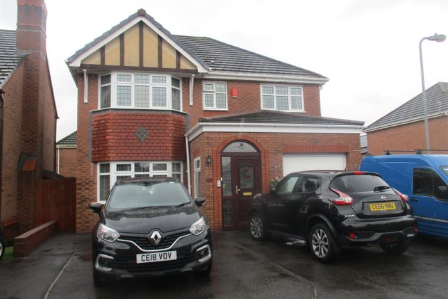 Thumbnail Detached house for sale in Flindo Crescent, Lansdown Gardens, Cardiff