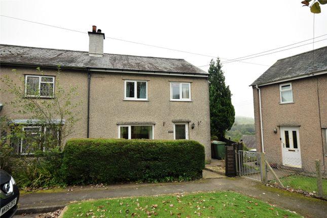 Thumbnail End terrace house for sale in Heulfryn, Aberangell, Machynlleth, Gwynedd