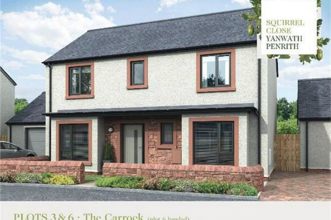 Thumbnail Detached house for sale in Plot 3 Squirrel Close, Yanwath, Penrith, Cumbria