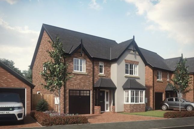 Thumbnail Detached house for sale in Woodfields, Hinstock, Market Drayton