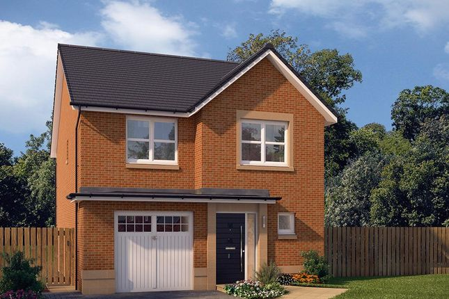 "Thumbnail Detached house for sale in ""The Newton"" at Edinburgh Road, Newhouse, Motherwell"