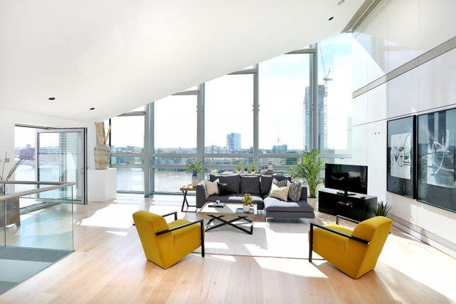 Thumbnail Flat for sale in Montevetro, 100 Battersea Church Road, Battersea